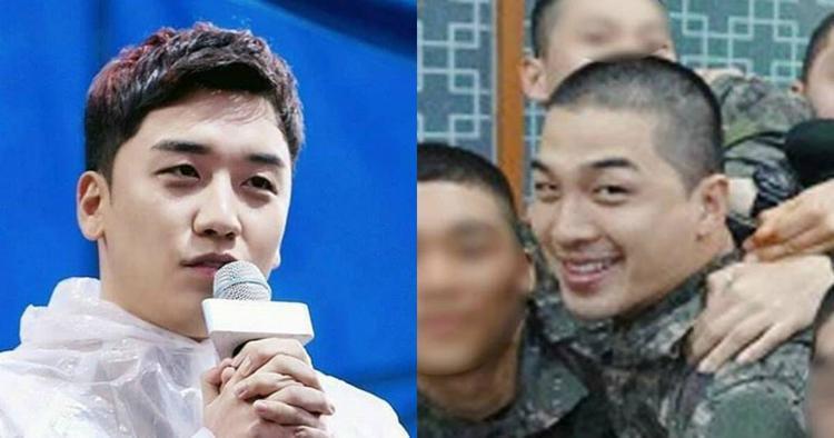 Đây là lý do Taeyang trong quân ngũ gọi điện cho Seungri thay vì vợ