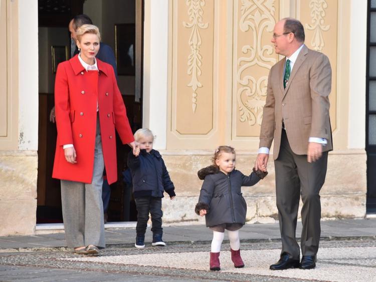 Gia đình nhỏ của Hoàng tửAlbert II.