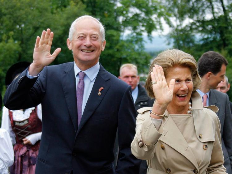 Hoàng tử Hans-Adam II và phu nhân, Công chúa Marie.