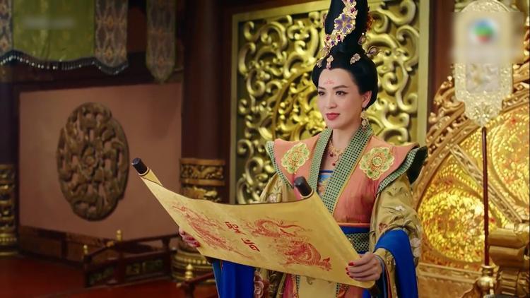 Thái Bình công chúa đọc chiếu phế truất Đường Thương Đế Lý Trọng Mậu
