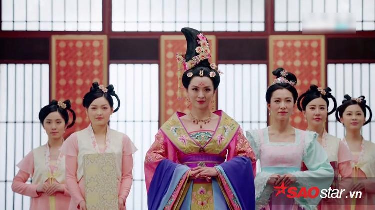 Trần Vỹ trong vai Thái Bình công chúa.