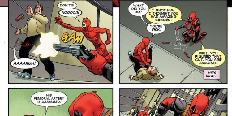 Danh sách 15 điều tồi tệ nhất mà Deadpool từng làm (Phần 1)