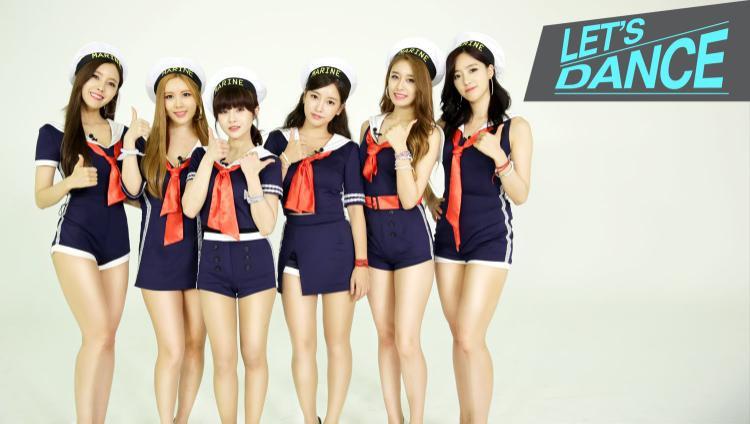 Hyomin - Qri - Boram - Soyeon - Jiyeon - EunJung: Vị trí đứng như thế này có lẽ đã ăn sâu vào trong tâm trí của mỗi thành viên.