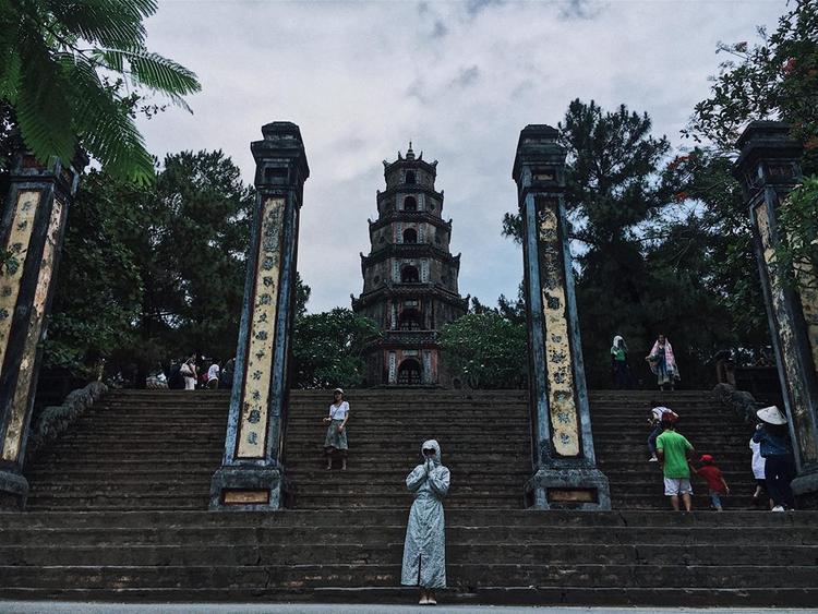 Từ điểm tâm linh… Ảnh: Nguyễn Vân.