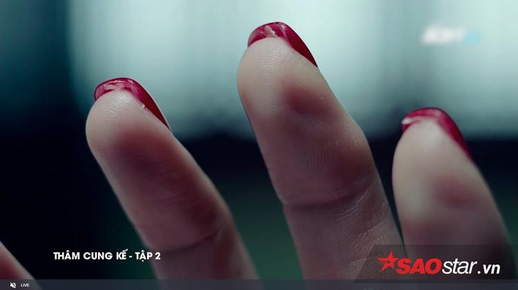 Mảnh da trên móng tay của nạn nhân…