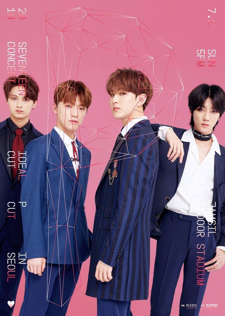 Hơn 460.000 fan tranh giành vé tham dự solo concert 2018 của Seventeen