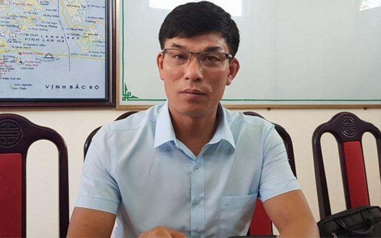 Ông Nguyễn Bá Thủy, Phó phòng Văn hóa - Thông tin - Thể thao và Du lịch huyện Cát Hải, Hải Phòng. Ảnh: Tùng Chi