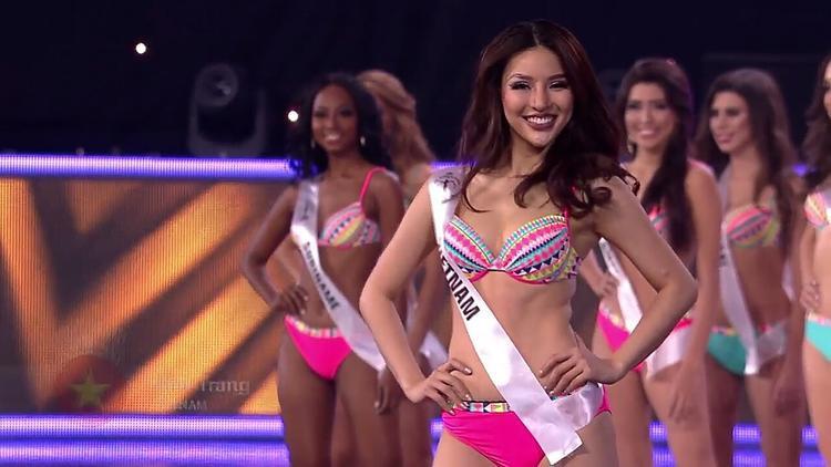 """Đặc biệt sau lần """"đem chuông đánh xứ người"""", Khả Trang được chuyên trang sắc đẹp Global Beauties bình chọn là Mỹ nhân đương đại sexy nhất thế giới năm 2016."""