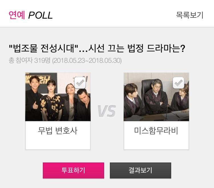 Cuộc bình chọn công khai trên trang web của báo Hàn. Người tham gia phải điền rõ thông tin cá nhân mới có thể bình chọn cho bộ phim mình yêu thích.