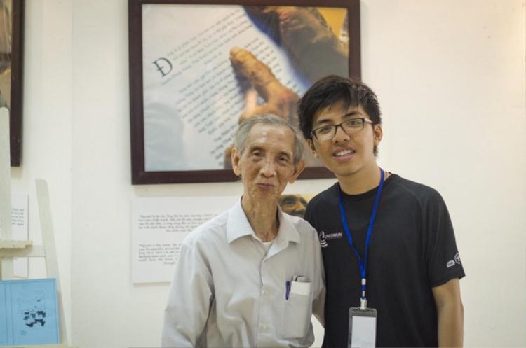 """Linh mở triển lãm ảnh """"Young 4 Old""""."""