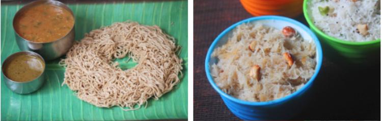 Có ai ngờ được người Ấn ăn bún cùng sữa dừa và đó lại là một món đặc sản