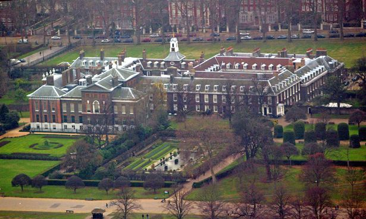 Cặp đôi Harry - Markle sẽ bắt đầu cuộc sống mới tại Nottingham Cottage nằm trong Cung điện Kensington. Ảnh: PA