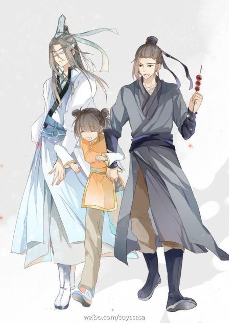 Ba con người, một cuộc sống vô tư hành hiệp hẳn là điều Hiểu Tinh Trần luôn mong ước.