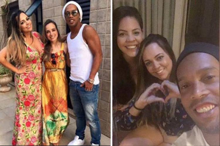Ronaldinho công khai ý định kết hôn với 2 người phụ nữ cùng một lúc.