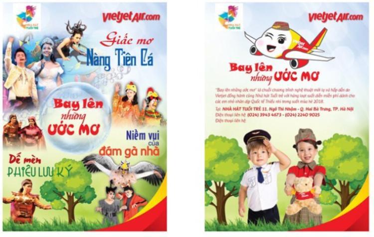 Nhà hát Tuổi trẻ và Vietjet Air công bố chương trình Bay lên những ước mơ