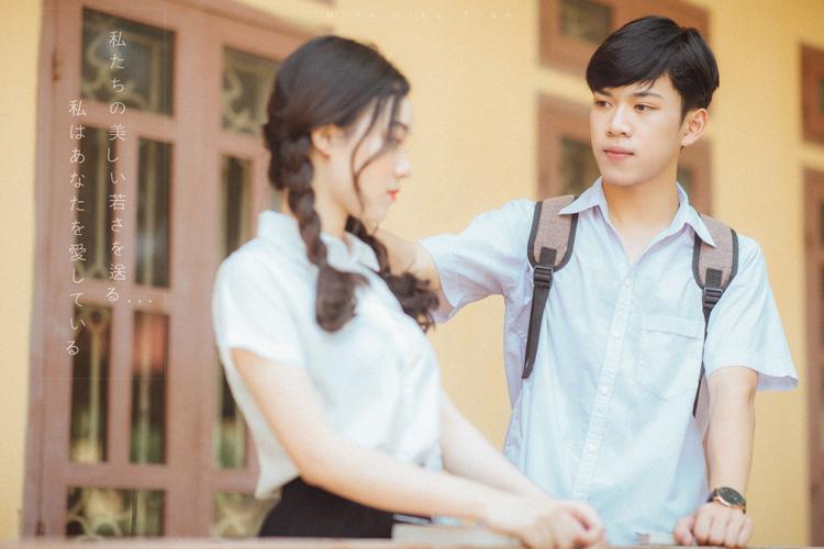 Bộ ảnh dắt em qua thanh xuân của đôi bạn học sinh giỏi: 17 tuổi, em đến bên tôi như định mệnh