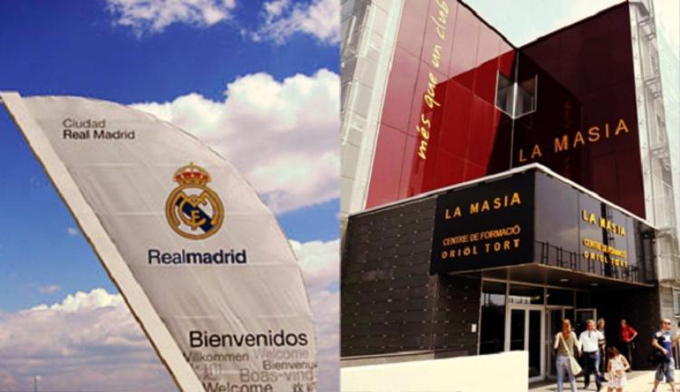 Lò đào tạo Castilla của Real và La Masia của Barca luôn cho ra lò nhiều tài năng nổi tiếng.