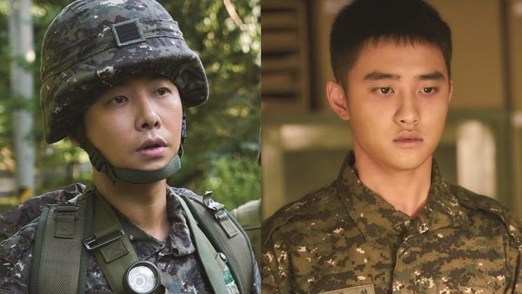 Kim Dong Wook và D.O (Exo).