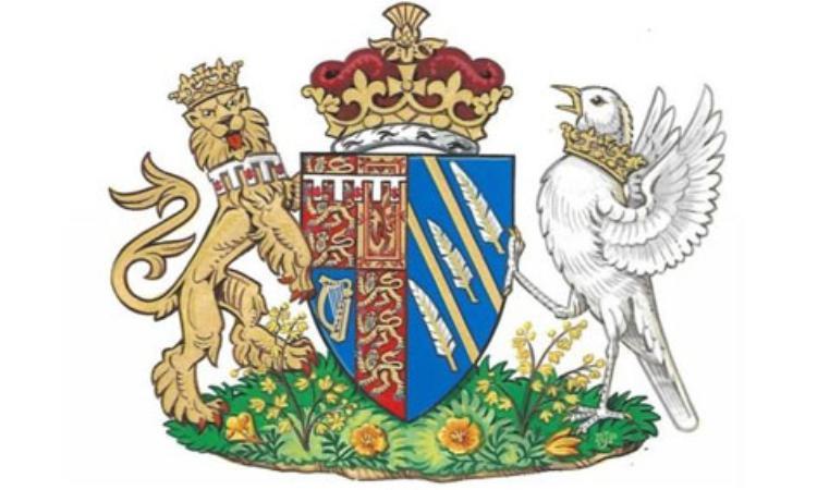 Huy hiệu đại diện của Công nương Meghan. Ảnh: Cung điện Kenshington.
