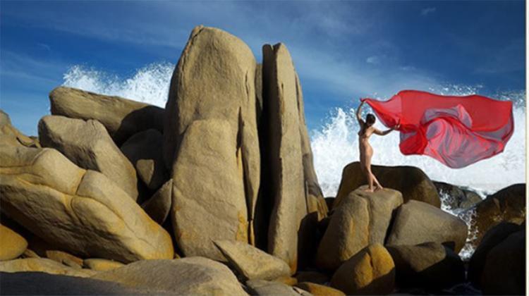 Một bức ảnh của nghệ sĩ Thái Phiên.