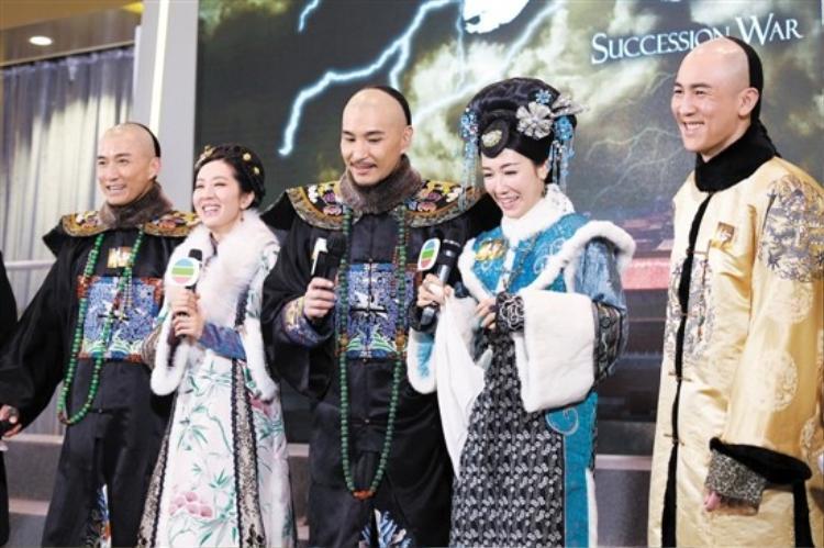Tạo hình của các nhân vật trong phim, trongđóTrần Sơn Thông thủ vaiđại thần Phúc Khang An