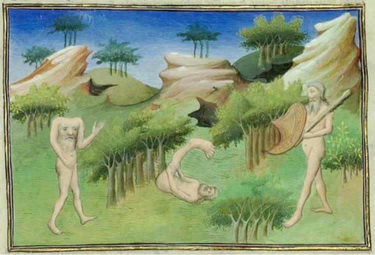 Sinh vật không đầu này được nhắc đến nhiều hơn vào thời Trung Cổ. Tuy nhiên, hình dáng của chúng trong mỗi câu chuyện không giống nhau.