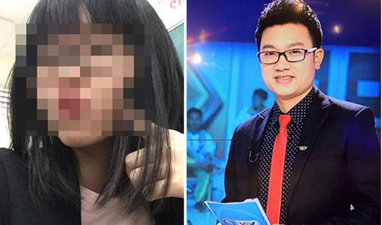 T.D (trái) từng lên tiếng tố anh rể là MC, BTV ở Đài truyền hình bạo hành.