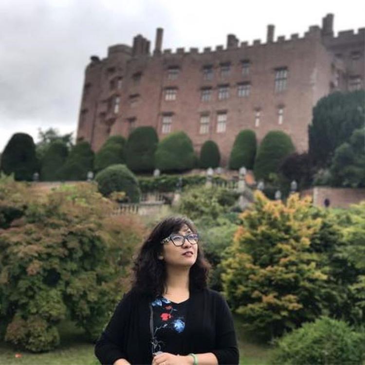 Lâu đài Powis ở xứ Wales