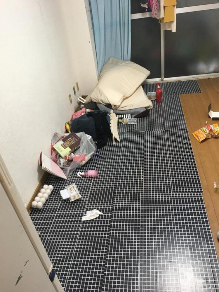 Nữ du học sinh ở Nhật bùng 20 triệu tiền thuê phòng, về nước để lại cả một biển rác khiến dân tình choáng váng