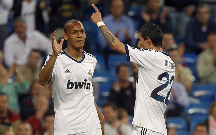 Fabinho từng thi đấu trong màu áo Real