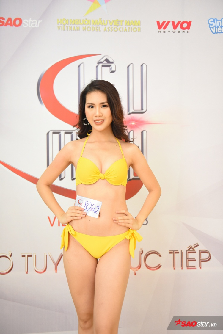 Từng tham dự rất nhiều cuộc thi hoa hậu, liệu rằng kinh nghiệm cùng nét đẹp ngọt ngào, nữ tính có phải là thế mạnh giúp cô nàng tiến sâu hơn vào những vòng trong của cuộc thi Siêu mẫu Việt Nam 2018.