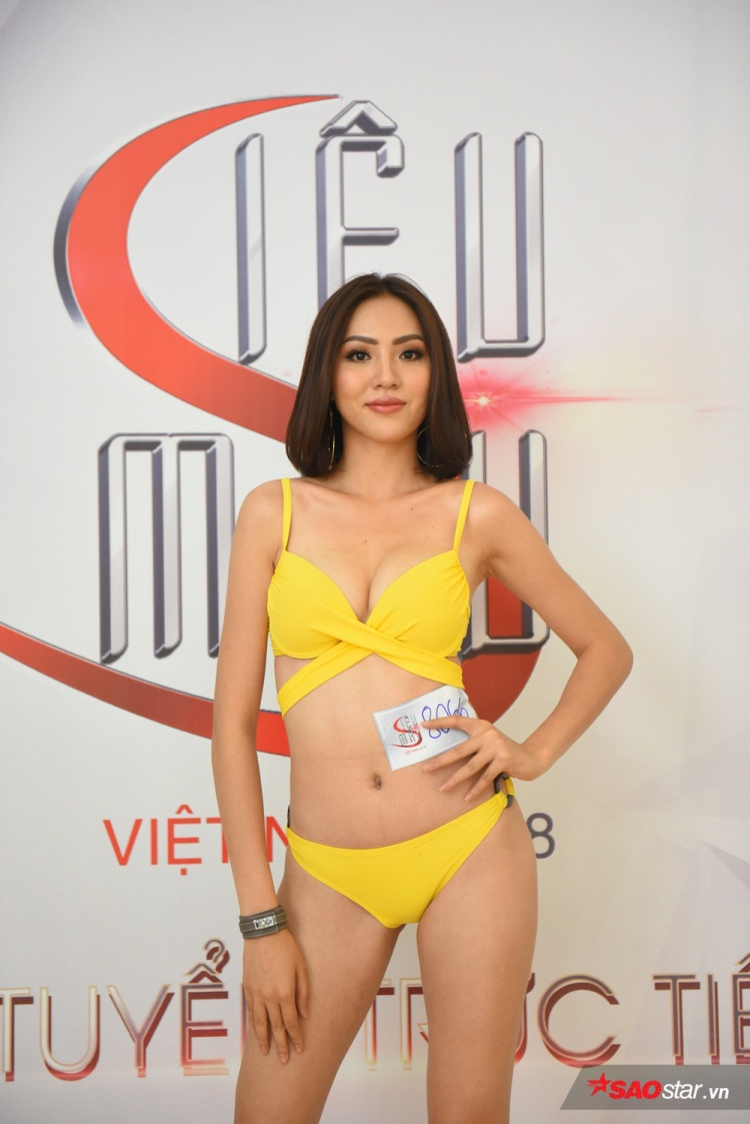 Bảo Ngọc (Ngọc Út) cũng là chân dài quen mặt với khán giả qua các cuộc thi: The Face Việt Nam, Hoa hậu Hoàn vũ Việt Nam…