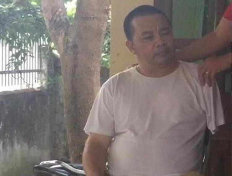 Bị can Thái Mạnh Khai.
