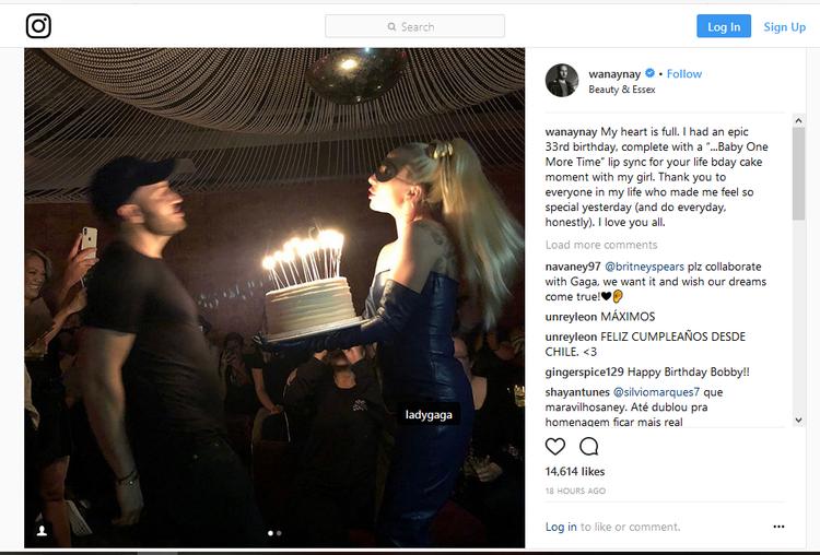 Bobby vô cùng hạnh phúc và phấn khích với món quà sinh nhật đặc biệt này nên đã chia sẻ tâm trạng của mình lên Instagram