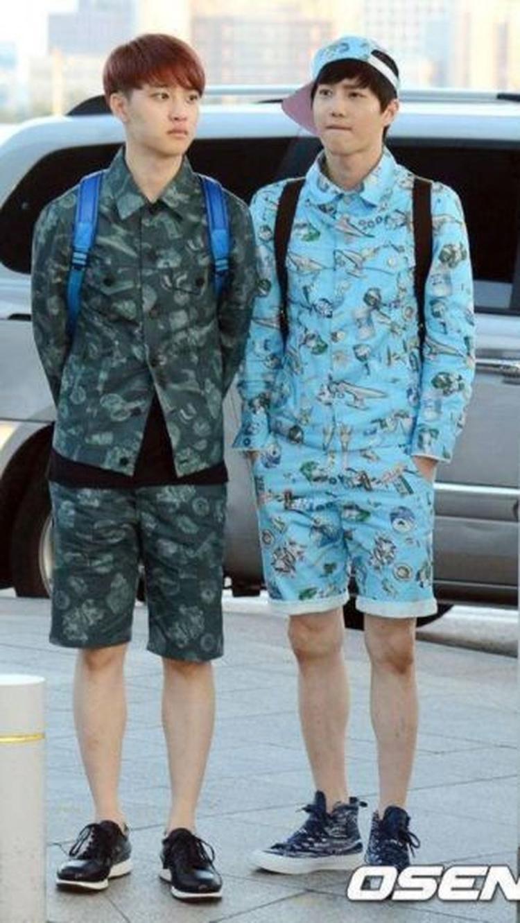 Hóa thân thành trẻ lớp mầm cùng thành viên D.O (EXO).