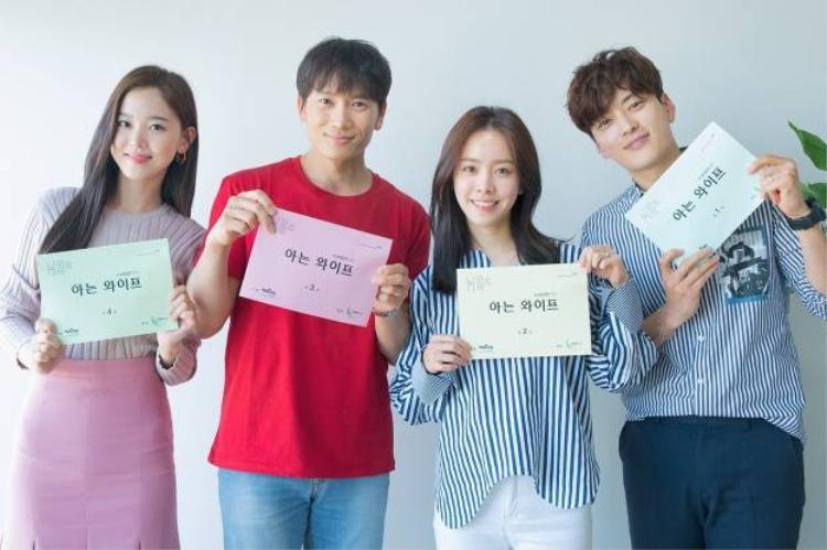 N (VIXX) và Kang Han Na ngưỡng mộ diễn xuất của Han Ji Min  Ji Sung tại buổi đọc kịch bản 'Knowing Wife'