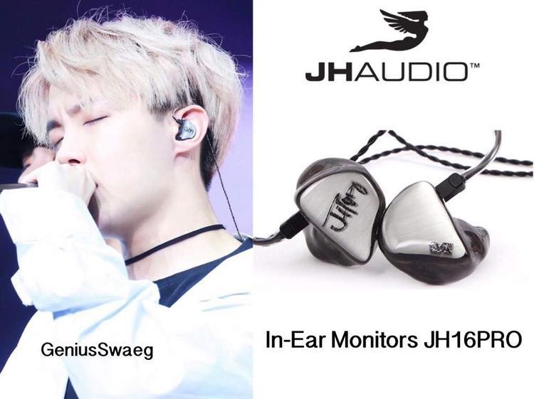 J-Hope cùng dùng thương hiệu và model tai nghe giống với Suga.