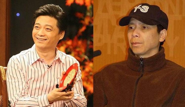 Thôi Vĩnh Nguyên (trái) và đạo diễn Phùng Tiểu Cương.