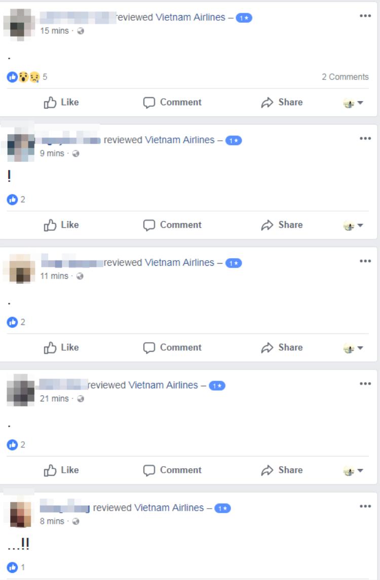 Phi công Vietnam Airlines đồng loạt nộp đơn xin nghỉ việc, fanpage của hãng liên tục bị đánh giá 1 sao