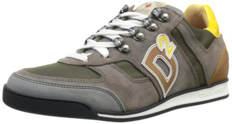 Ngoài ra, khi tiến vào thị trường giày, dép streetwear, rất nhiều thương hiệu high-end đều tìm nguồn cảm hứng từ những nhà mốt thể thao, sau đó, sản phẩm tung ra lại được bán với mức giá đắt đỏ, như mẫu sneaker này củaDsquared2…