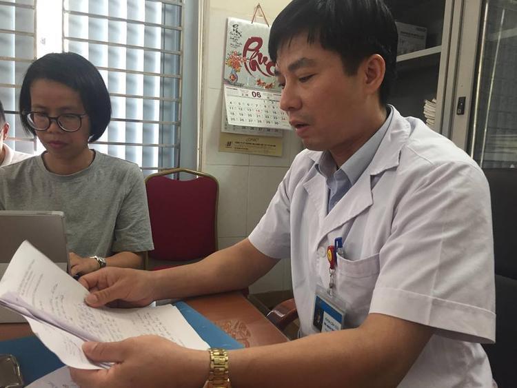 Bác sĩ Mạch Thọ Thái cho biết, ông chưa bao giờ gặp vụ việc nào thương tâm như vụ 3 mẹ con tử vong sáng 31/5.
