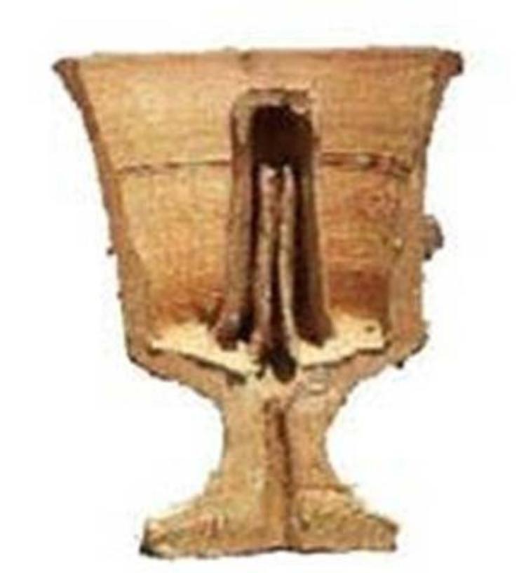 Chén Pathagoras. Ảnh: Wikipedia