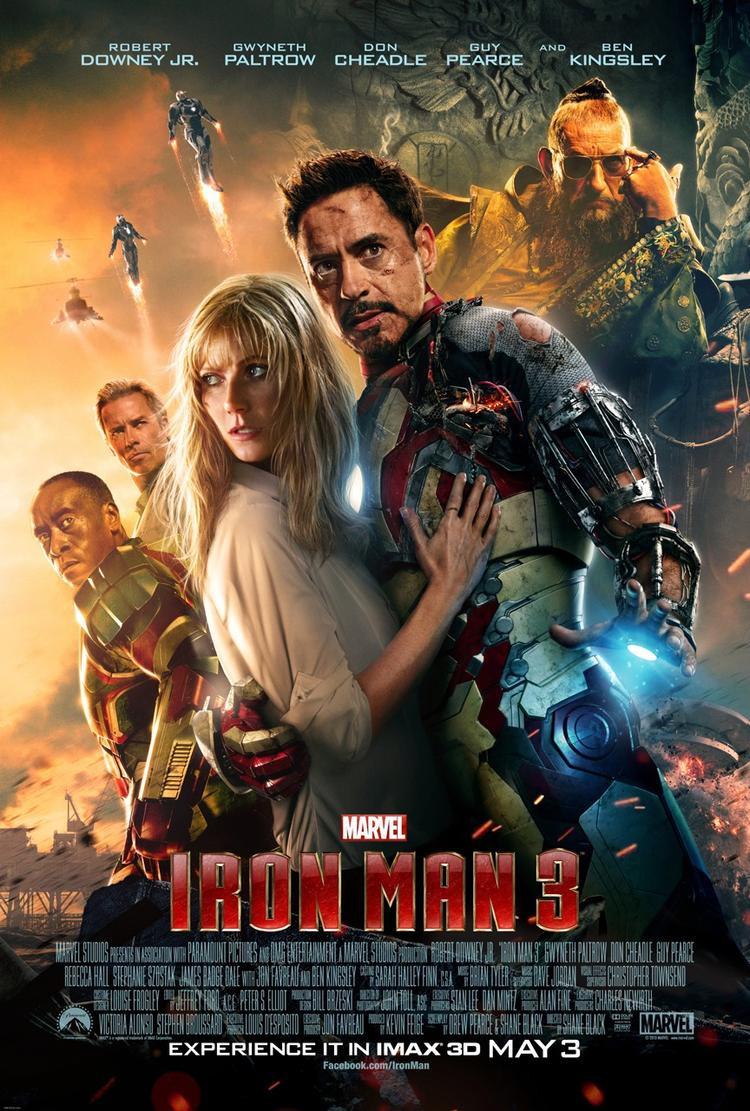 """""""Iron Man 3"""" là phần phim cuối cùng về hành trình riêng của Người Sắt."""