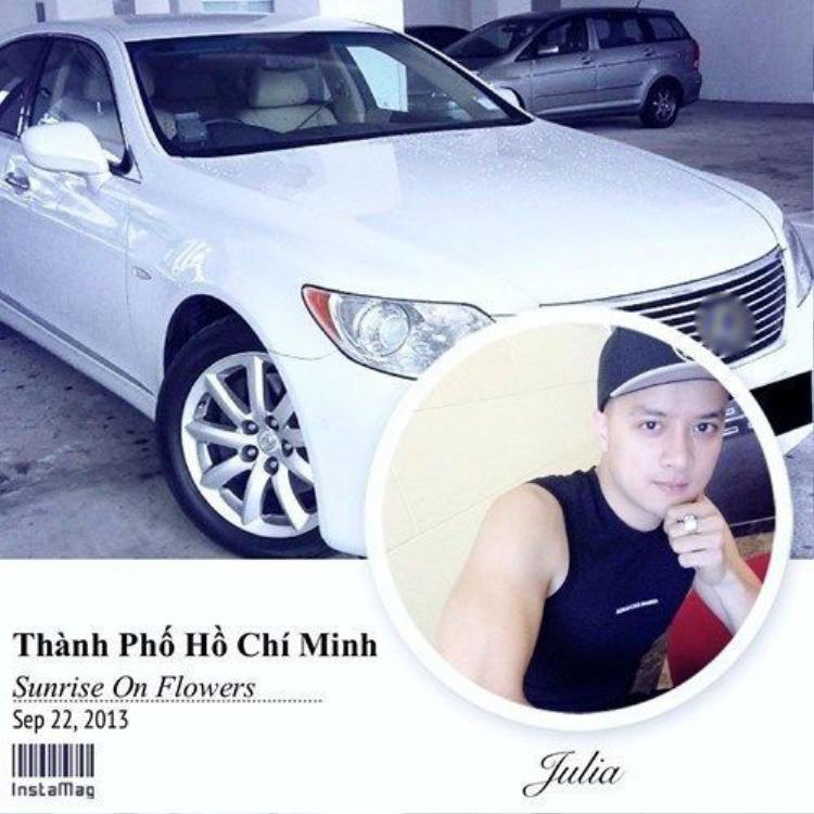 Cao Thái Sơn từng được fan nữ tặng xe tiền tỷ.