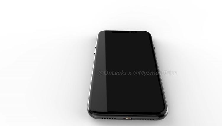 Về tổng thể, máy vẫn có thiết kế tương tự iPhone X với thiết kế hai mặt kính và khung kim loại. Đuôi máy tiếp tục không có jack cắm tai nghe 3,5 mm.