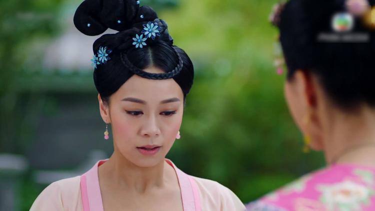 Cam Nhược Thiên đánh liều gặp Thái tử phi để cầu xin cho hảo tỉ muội.