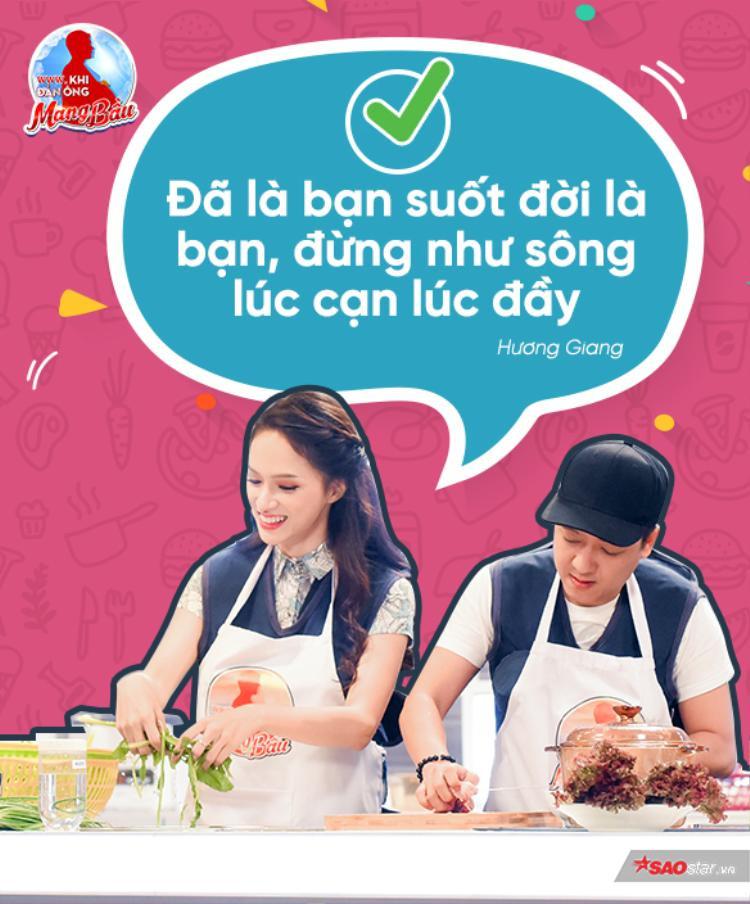 Không phải lúc nào cũng sai lầm, Hương Giang trong thử thách trí nhớ vẫn rất minh mẫn trong từng phát ngôn của mình nhé!