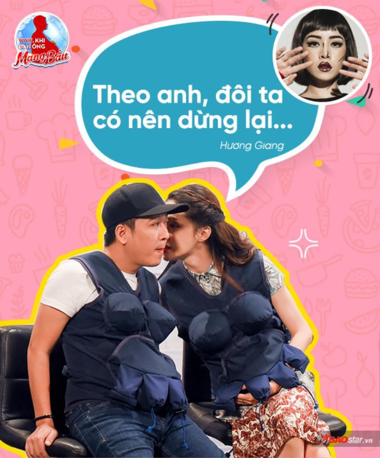 Câu này chắc phải nhờ Chipu trả lời nhé! Nếu không, đón xem tập 4 chương trình để biết thêm nhiều khoảnh khắc diệu kỳ hơn nữa đến từ Hương Giang.