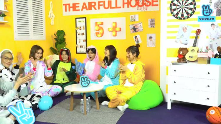 Sau sự cố tách nhóm, The Air nghịch ngợm với đội hình mới trên V Live