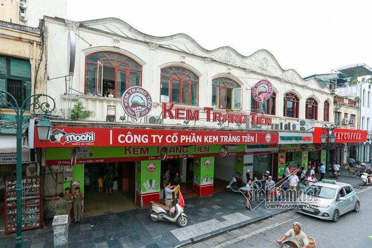 Đăc sản kem Tràng Tiền có mặt từ năm 1958